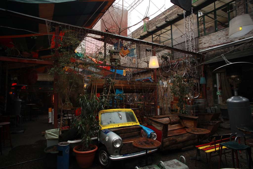 Things to do in Budapest - Szimpla Kert