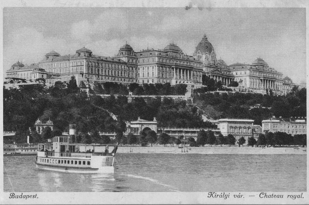 Old photos of Budapest - Buda Castle