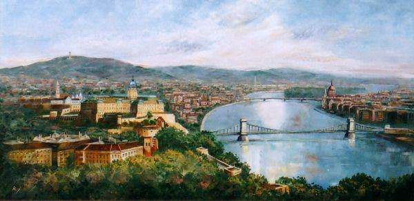 paintings of Budapest